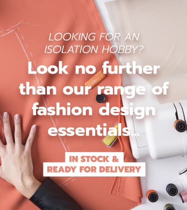 Find a hobby during lockdown - Fashion Design and Craft Supplies