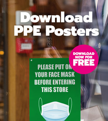 Download over 20 FREE PPE Posters