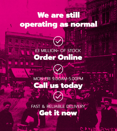We're open as usual - Call Us, Visit Us and Shop Online