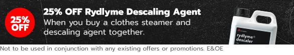 25% OFF Descaler