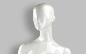 Abstract Realistic Female Mannequins
