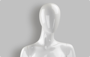 Faceless Realistic Female Mannequins