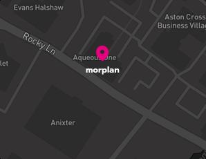 Get directions to Morplan Birmingham