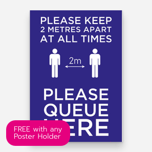 FREE Poster with any Poster Holder