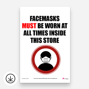 Download your PPE Poster